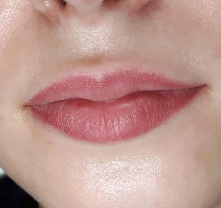 Контур губ